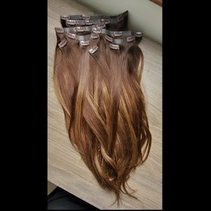 "Luxy Seamless Chocolate Brown Balayage 20"" (180g)"